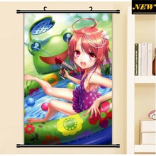 40X60CM Kantai Collection KanColle i-58 loli cameltoe art cartoon anime wall picture mural poster cloth scroll canvas painting