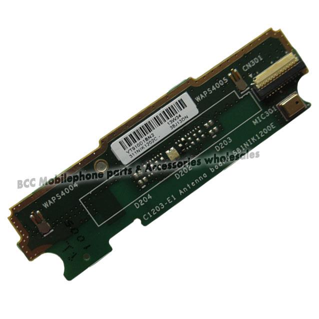 3pc Original For Sony for Xperia S36 Flex Microphone Signal Connector Small Board+Vibrator Flex Ribbon Cable Vibrate Vibra Motor(China (Mainland))