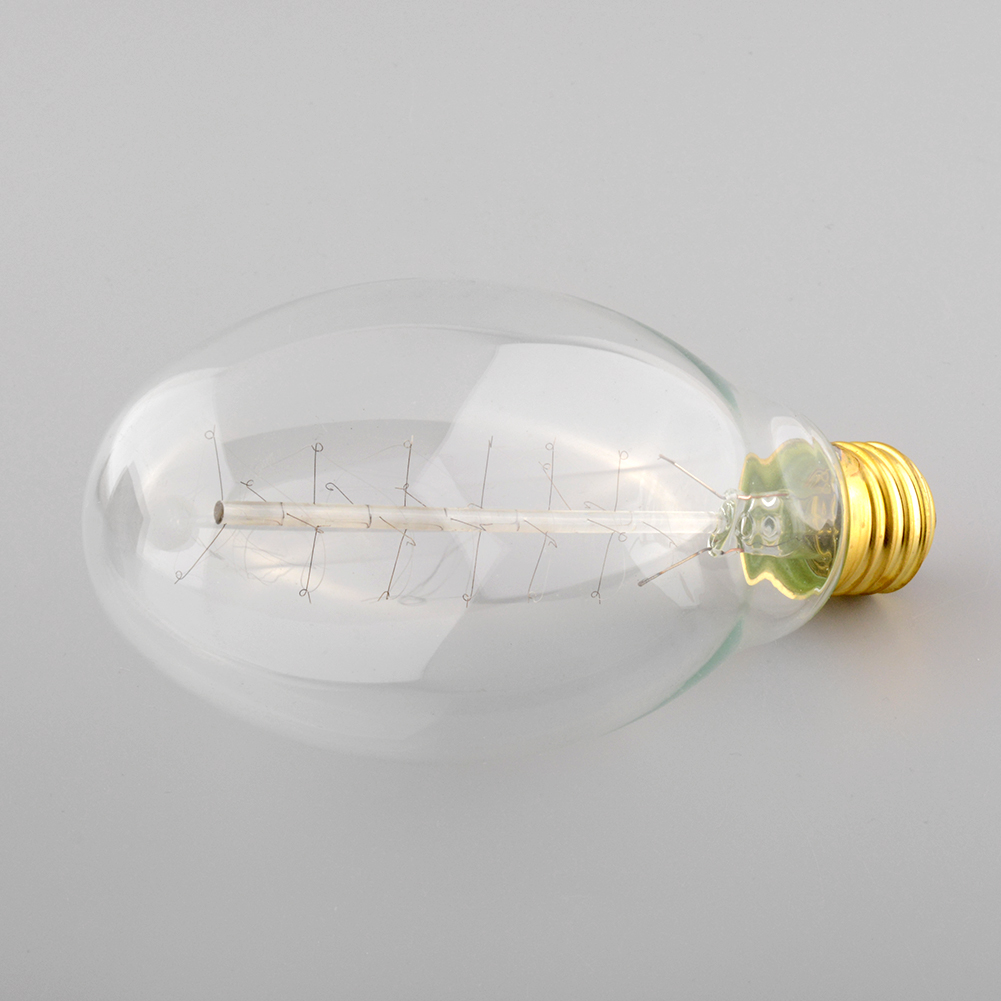 E27 Vintage Retro Edison CT75 Antique Roll Filament Incandescent Practical Home Office Light Lamp Bulb Decoration(China (Mainland))
