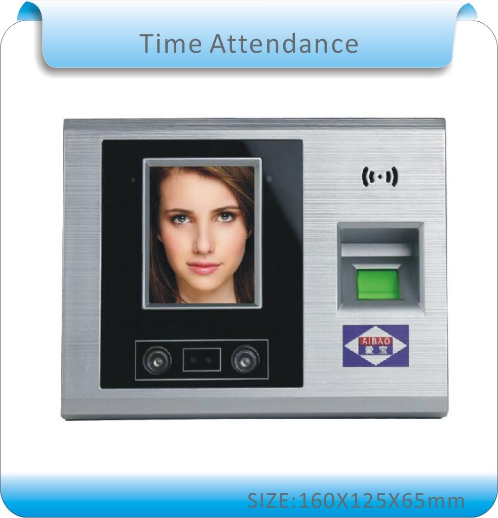 "Здесь можно купить  Free Shipping 2.8"" TFT LCD Touch Screen Biometric Attendance Face Recognition Time Attendance Time Clock+fingerprint+passowrd  Безопасность и защита"