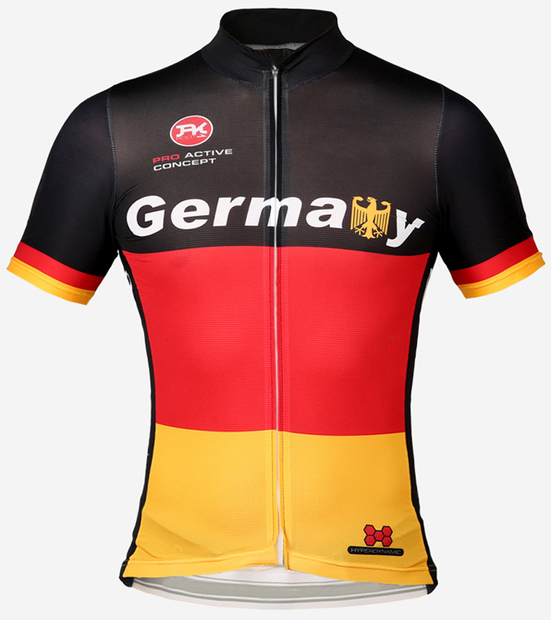 Lowest price promotion selling 2015 nice design team germany italy argentina brazil biking jersey only some size italy ink(China (Mainland))