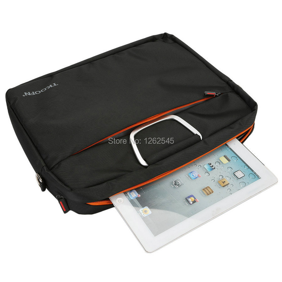 14inch Laptop Bag Case For Macbook Bag Sleeve Black Tablet PC Notebook Shoulder Bag Case Pouch(China (Mainland))
