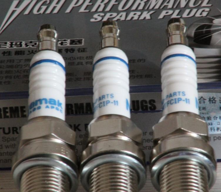 Replacement Parts Platinum iridium spark plugs car candles for hyundai rena 1 4l 1 6l G4FC