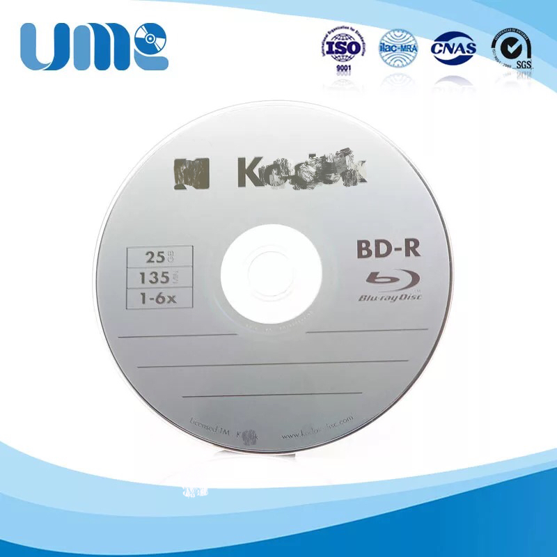 Wholesale 10 Discs 100% Authentic K-Brand Blank Printed 25 GB GB 6X BD-R Blu Ray Discs(China (Mainland))