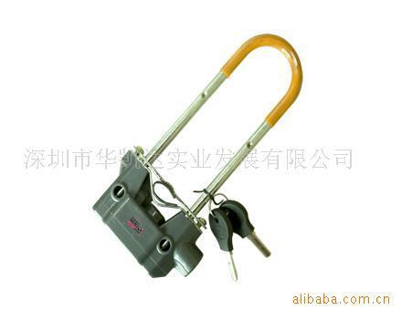 Electric vehicle anti-theft alarm padlock stainless steel motorcycle lock bicycle lock(China (Mainland))