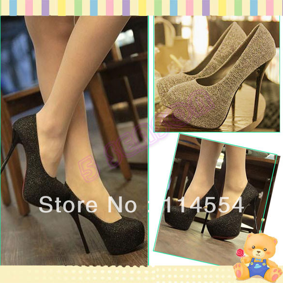 Delicate party wear heeled shoes
