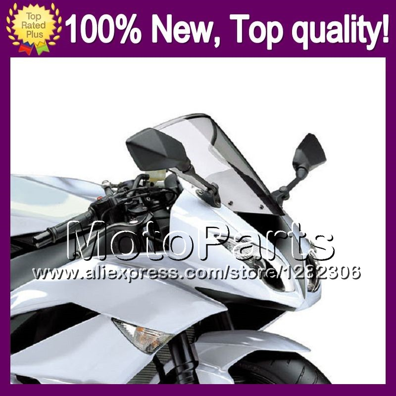 Light Smoke Windscreen For KAWASAKI NINJA ZX-9R 02-03 ZX 9 R ZX 9R 2002-2003 ZX9R 02 03 2002 2003 #104 Windshield Screen