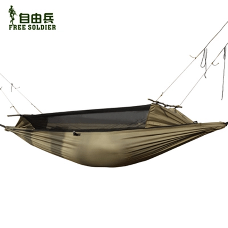 Garden Hamak Hammock Net  Army Hammocks Camping Outdoor Furniture Tent Survival Portable Mosquito Protector<br><br>Aliexpress
