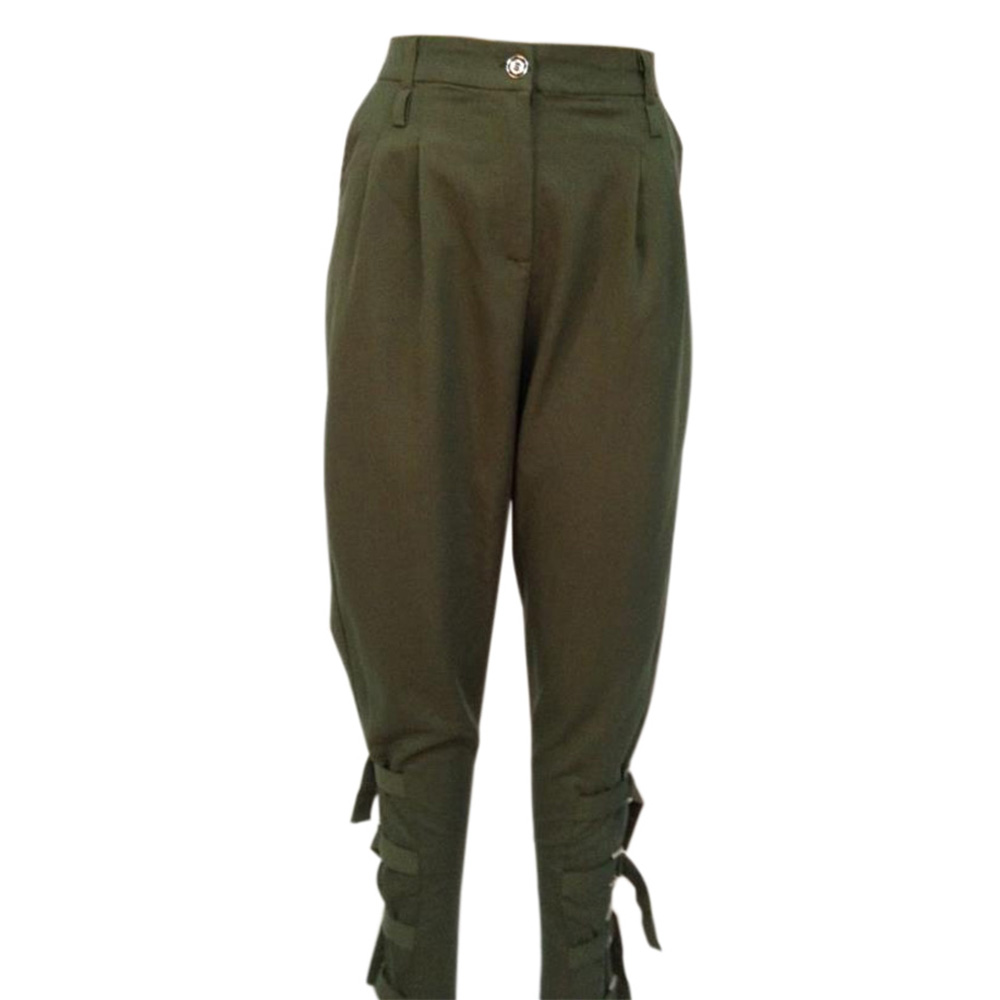 Preself fall Casual Plus size women ArmyGreen pant woman design fashion high quality celeb unique Leisure Trousers harem pants
