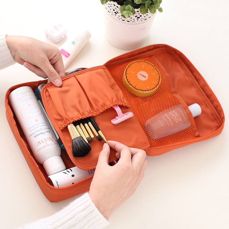 Simple Travel Shower Bag With Decorating