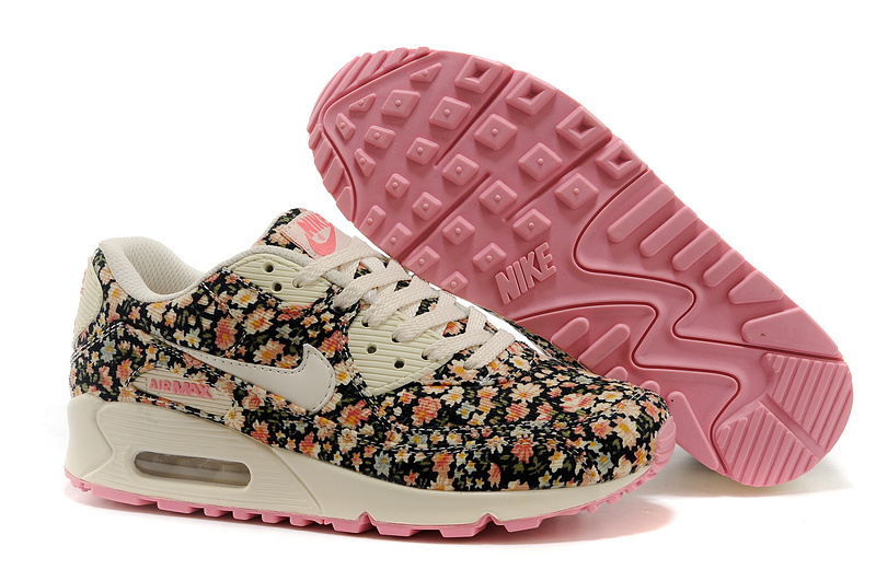 nike air max mujer con flores