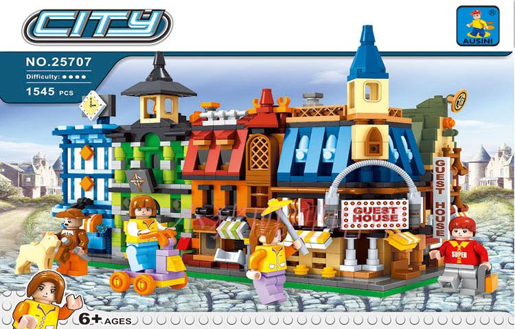 Building Block Sets Compatible lego new city 1543D Construction Bricks Educational Hobbies Toys Kids