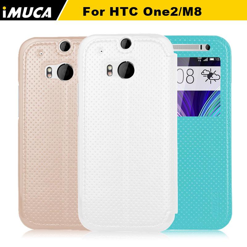for HTC One M8 Case Cover for HTC One 2 One M8 M8s M 8 M8x Luxury Flip Phone Case IMUCA brand Mobile Phone Accessories(China (Mainland))