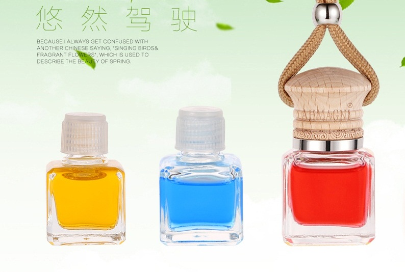 car auto perfume plant essential oil Car Air Freshener Fragrance Bottles of perfume Hang rope A three-piece pendant multicolor(China (Mainland))