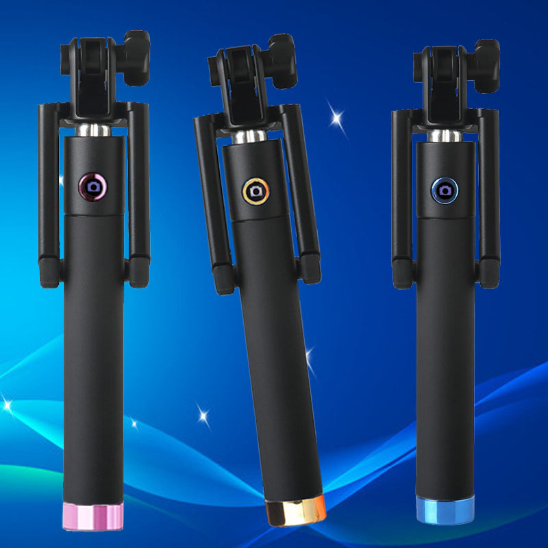 New mini universal self Selfie Stick For android ios xiaomi iphone 4 5 6 samsung phone