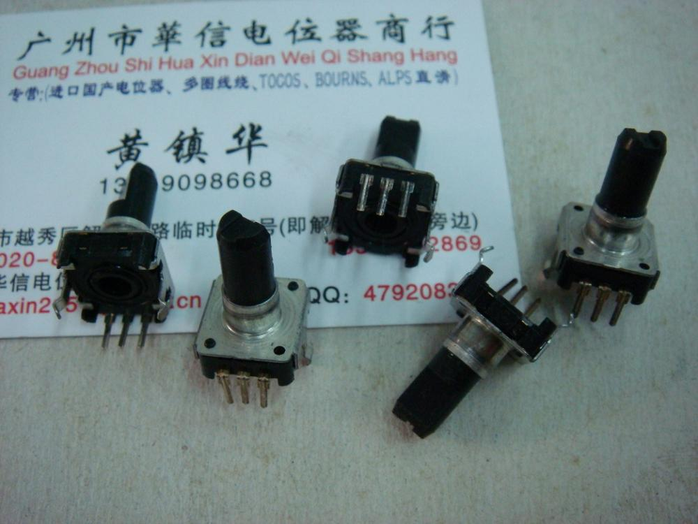 Car stereo volume potentiometer encoder 11 -point type with step 24(China (Mainland))
