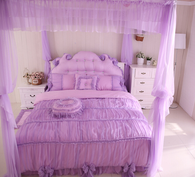 good quailty hotel bedding set purple comforter sets full queen king size pink lace bedding sets. Black Bedroom Furniture Sets. Home Design Ideas