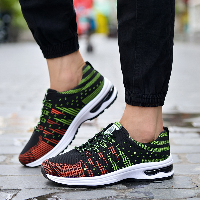 Hot 2016 new men breathable casual shoes high quality fashion mens trainers luxury branded designer male shoes zapatillas hombre(China (Mainland))