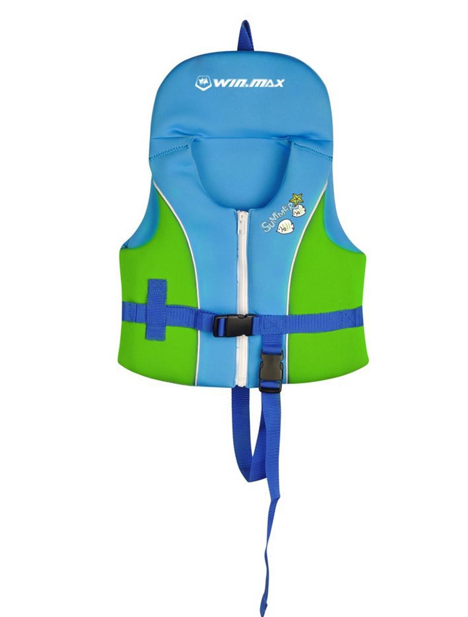 Very Cute Baby Swimming Life Jacket Children Swimming Vest for Kids Inflatable Floatable Swim Beach Vest Samll Swimwear Red Blue(China (Mainland))