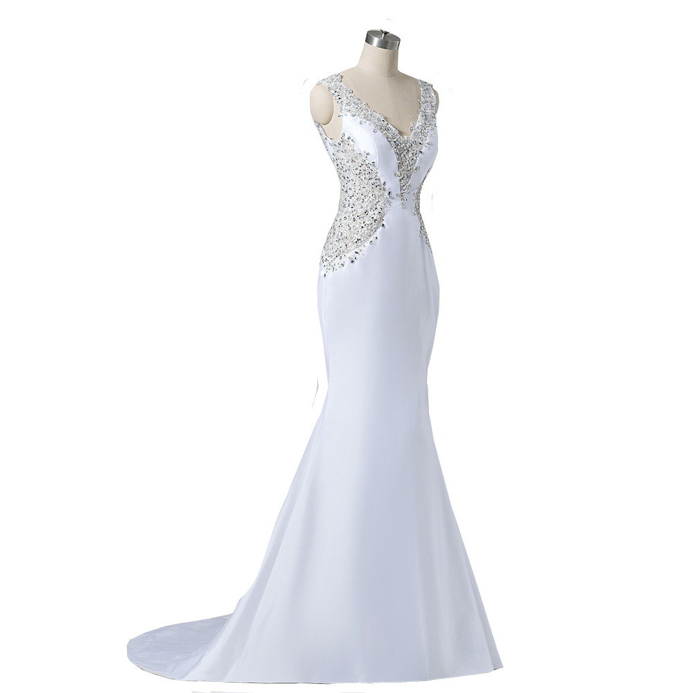 Low cut wedding dress promotion shop for promotional low for Wedding dress shops in maryland