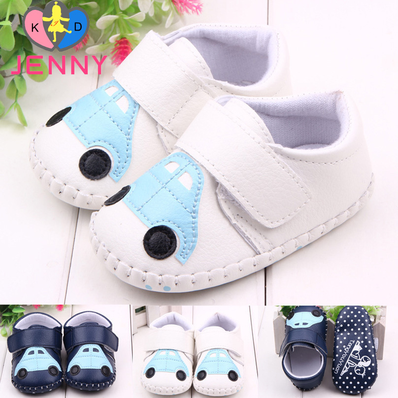 JENNY kids! newborn baby infant cotton magic hook first walkers baby boys children child leather floral soft soles shoes(China (Mainland))