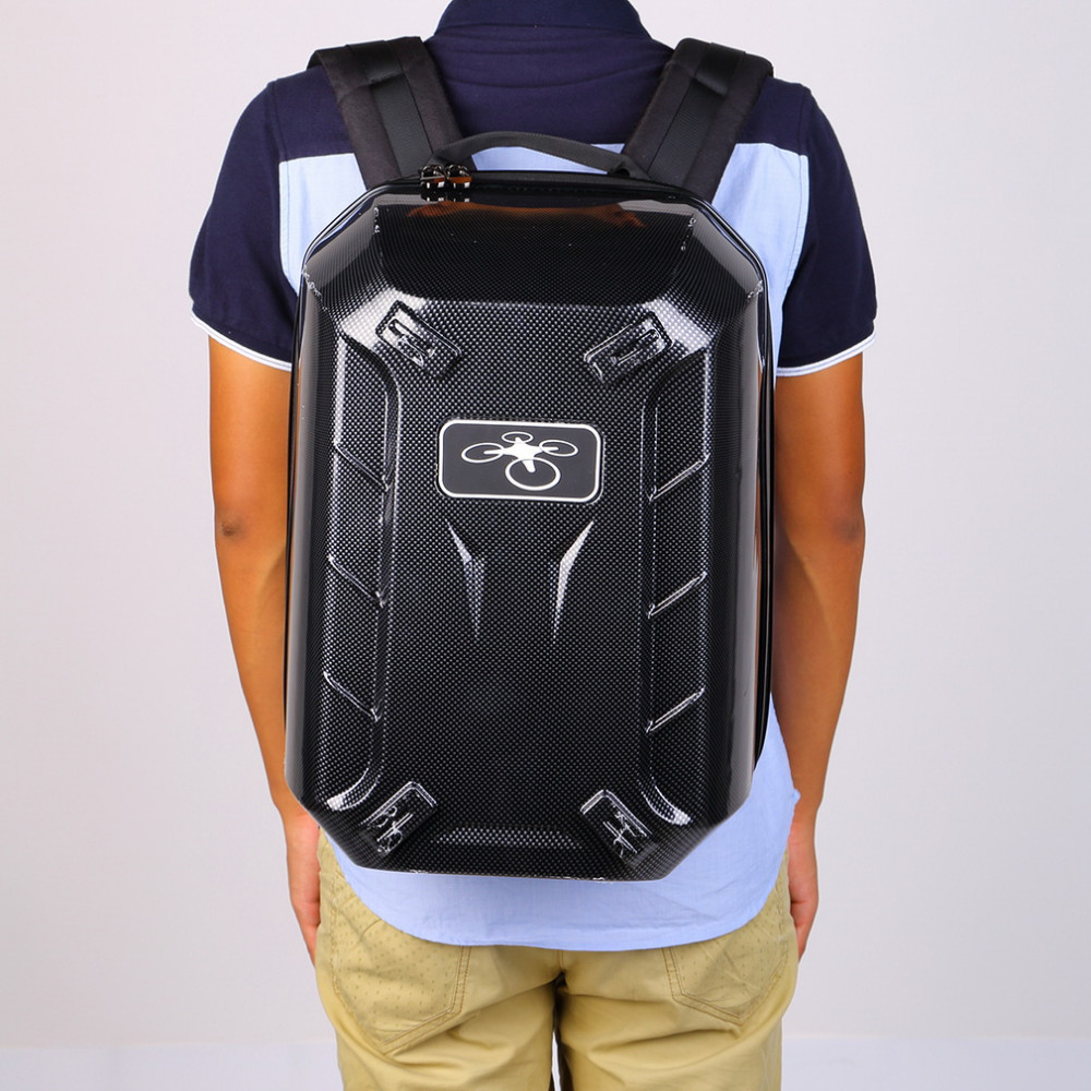 FPV Quadcopter Backpack Hard Outdoor Shoulder Bag For DJI Phantom 3 Drone Bag Carry Box Waterproof Durable Black Rc Toys Parts