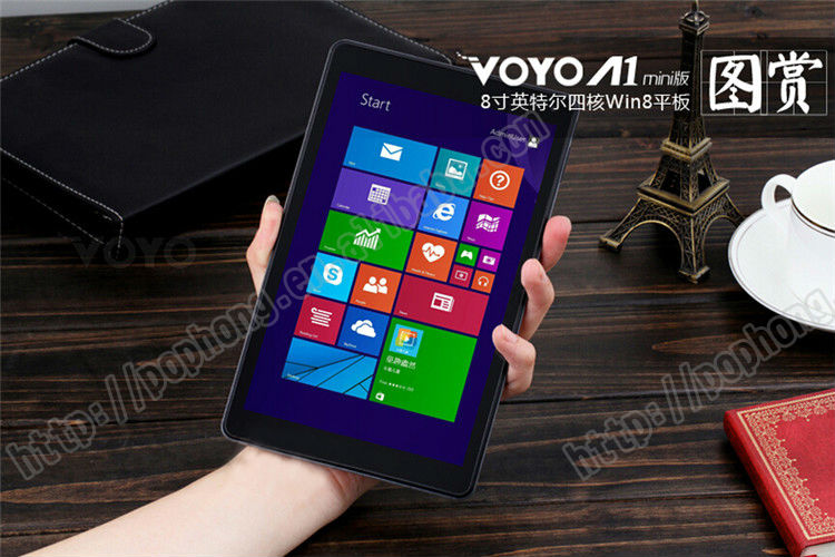 8 1280 800 Winpad Voyo A1 Mini Baytrail T Z3735 Quad Core Dual OS Tablet 2GB