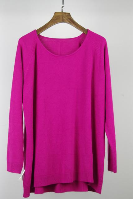 XL-3XL Свободный Plus Размер Autumn and Winter Женщины's Pullover свитер OverРазмер ...