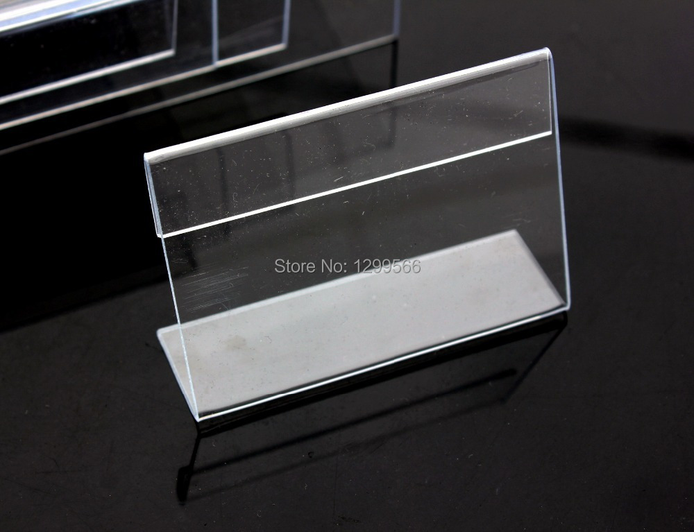 Free shipping clear acrylic name table card price tag for How to use table tag in html
