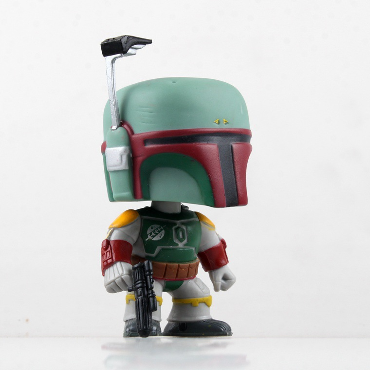 Funko Pop Anime Funkopop Star Wars Boba Fett Bounty Hunter Action Figure Toys 9cm PVC Brinquedos Kids Collection Model 0268(China (Mainland))