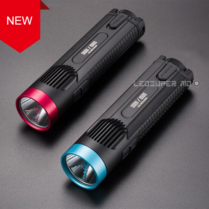 New Arrival Nitecore EC4GT LIMITED EDITION LED Searchlight Precious Gift Flashlight with Unique Color and Serial Number(China (Mainland))
