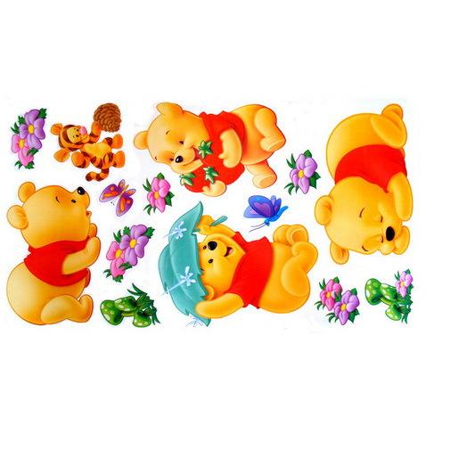 New Fashion Wall Sticker Kids Wall Decals Children Home Decor DIY Children Wall Stickers Free Shipping(China (Mainland))