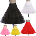 Free Shipping Grace Karin Black/White/Red Fashion New For Wedding Women Vintage Dress Gown Petticoat Underskirt Crinoline CL5045