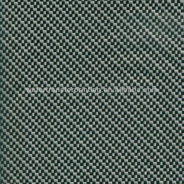 WIDTH100 CMGWA187-1 WHOLESALE Black/Silver CARBON FIBER Water Transfer Printing film Transparent Film With different basecoat
