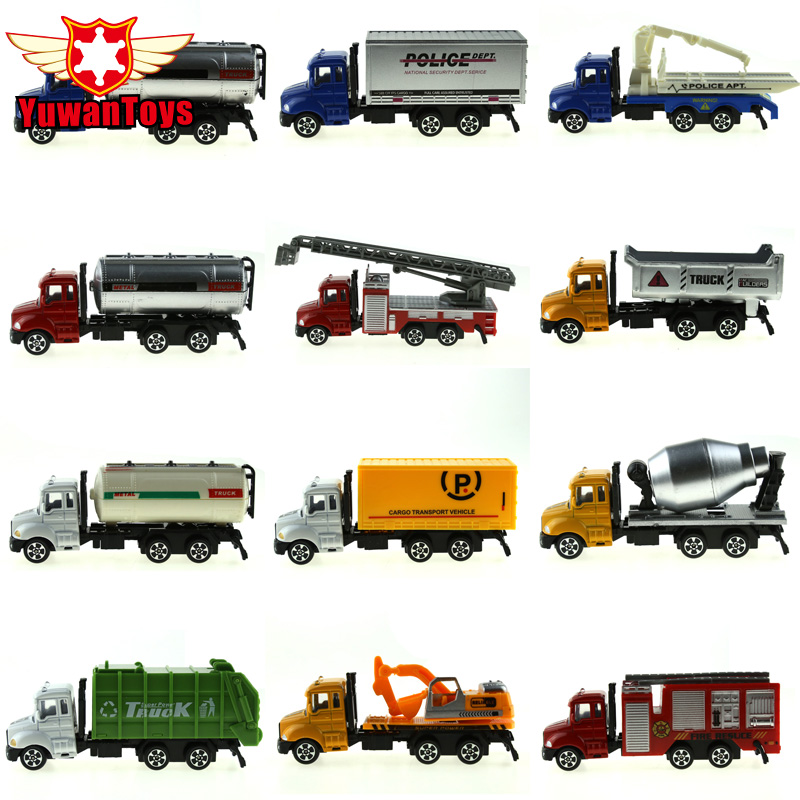 METAL Car Diecast Metal Cars Toys Alloy Toys Car Models Collectible Skin City Bulldozers Tractor Models Truck Toys For Children(China (Mainland))