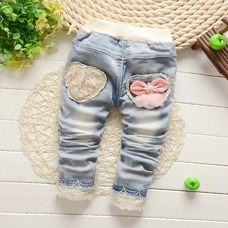 2016 spring boy pants girls light-colored jeans cotton boy pants jeans<br><br>Aliexpress
