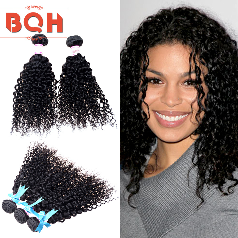 Wholesale10-30 inches 100% Malaysian Human Hair 3 PCS Lot Unprocessed Malaysian Kinky Curly Hair Weaves Afro Curly Hair Weft(China (Mainland))