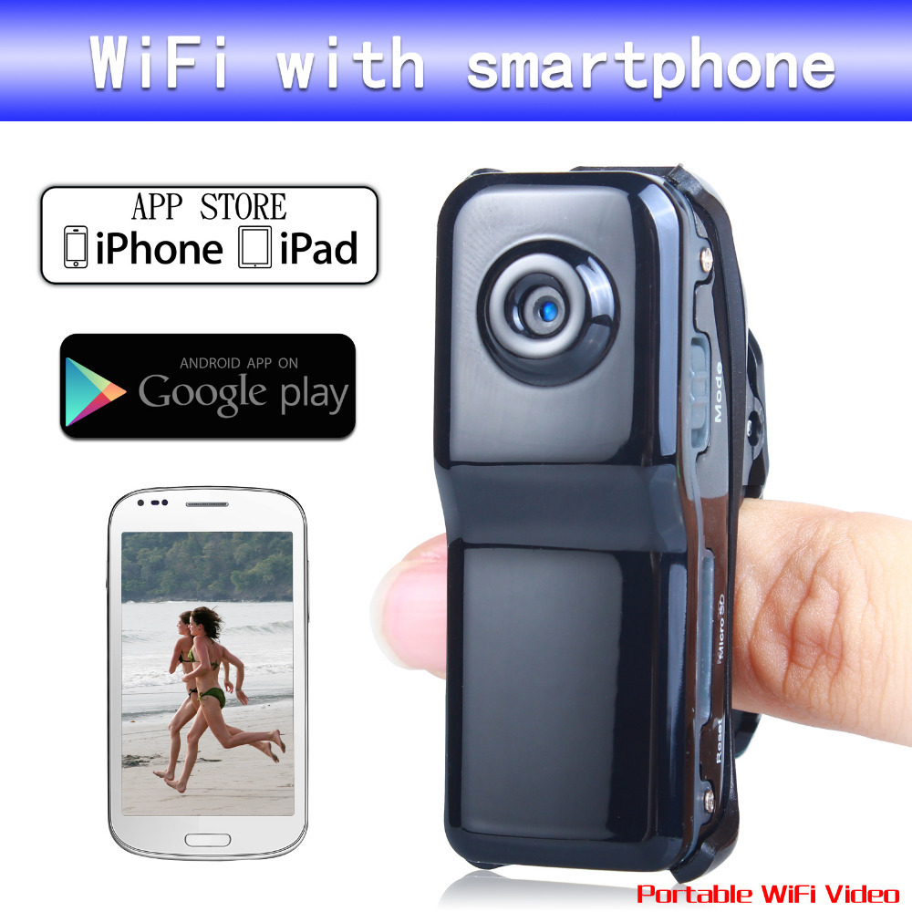 MD99S WiFi MD80 IP Camera wireless WiFi camera 640*480 Mini camera DVR For IOS Android Phone Tablet PC Computer(China (Mainland))