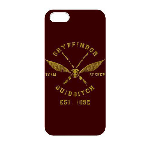 Retro Classic Harry Potter Gryffindor Quidditch Print Hard Cover Case for iphone