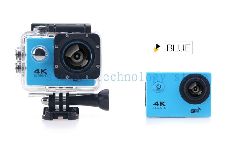 gopro hero 4 style F60 Action Camera Wifi 4K Go Waterproof Pro 2.0 LTPS LED Mini Cam Recorder Marine Helmet Diving Sport Camera