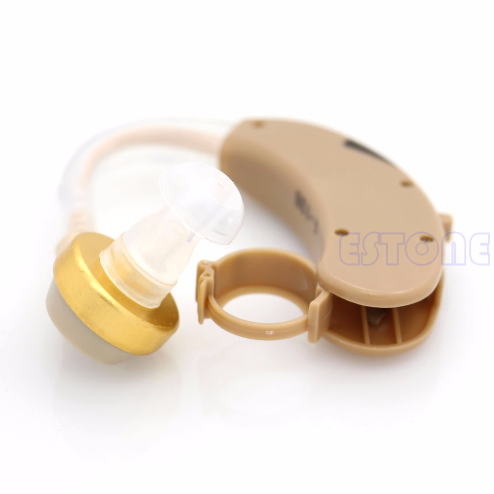 New Best Adjustable Digital Tone Hearing Aids Aid Behind Ear Sound Amplifier Hot