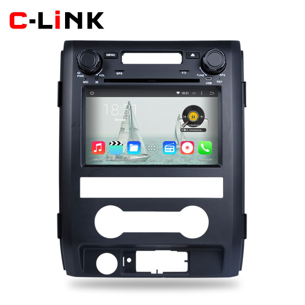 """Quad Core 1.6GHz 7"""" 1024*600 Pix Android 4.4 Car PC Video Player GPS For Ford F150 2009-2013 Radio DVD WIFI TV Bluetooth OBD2(China (Mainland))"""