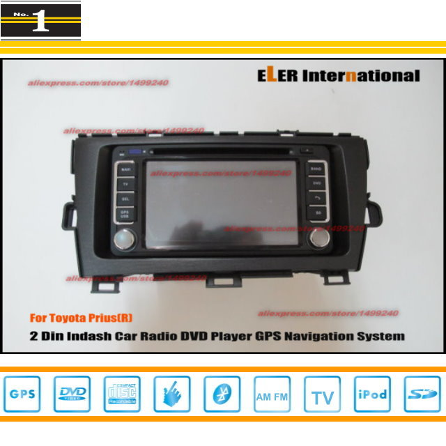 For Toyota Prius (R.H.D.) 2009~2013 - Radio CD DVD Player & GPS Navigation System / Double Din Car Audio Installation Set(China (Mainland))