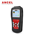 New Ancel AD510 Car OBDII EOBD CAN Scan Tool Battery Voltage Check Real Time Universal OBD2