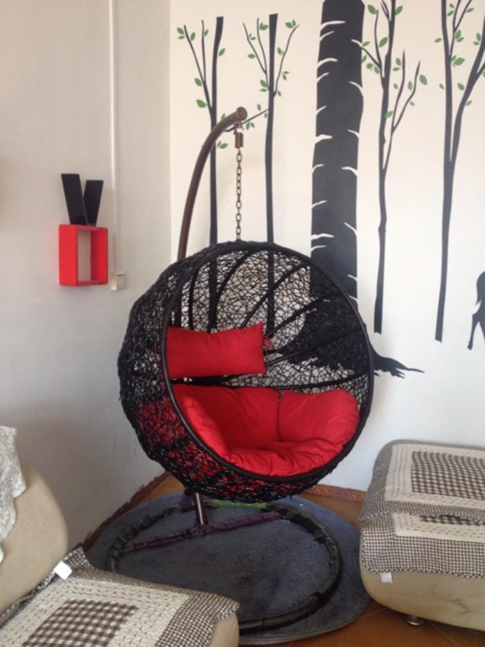 Hanging chair rattan basket lazy hammock swing outdoor indoor leisure rocking sofa balcony(China (Mainland))
