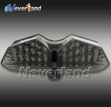 Hot sale Motorcycle LED Turn Signal Tail Light for Yamaha YZF R6 03 04 05 Smoke Free shipping C20(China (Mainland))