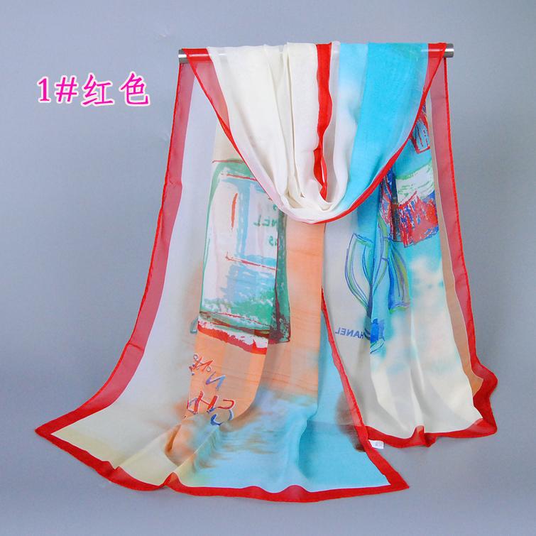 Apparel Framing Silk Scarves Promotion