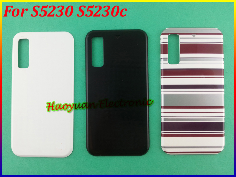New 10 piece with wipe cloth screen protector film for samsung s5230/s5230c/5233 free shipping pet material high