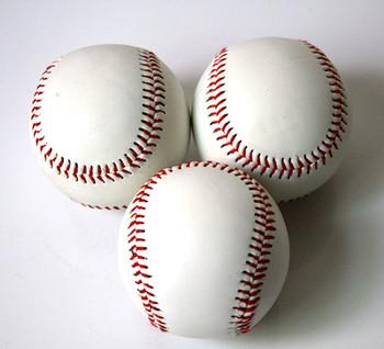 Professional baseball handmade rubber soft ball baseball elastic