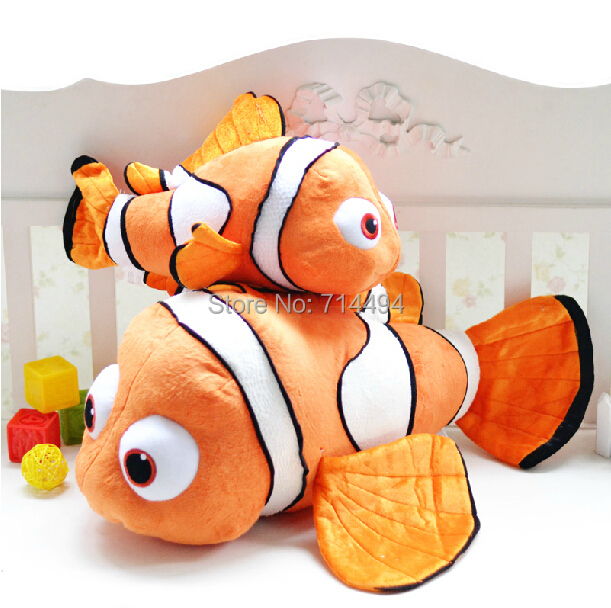 24or40cm small plush toy Nemo clownfish Nemo plush toy golden fish hot selling super gifts for kids free shipping(China (Mainland))